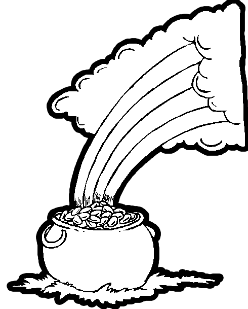 click on image to open up coloring page - Irish Coloring Pages