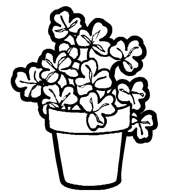 children planting flowers coloring pages - photo#25