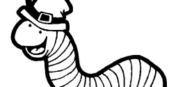 Printable Inchworm Coloring Page - Get Coloring Pages | 125x256
