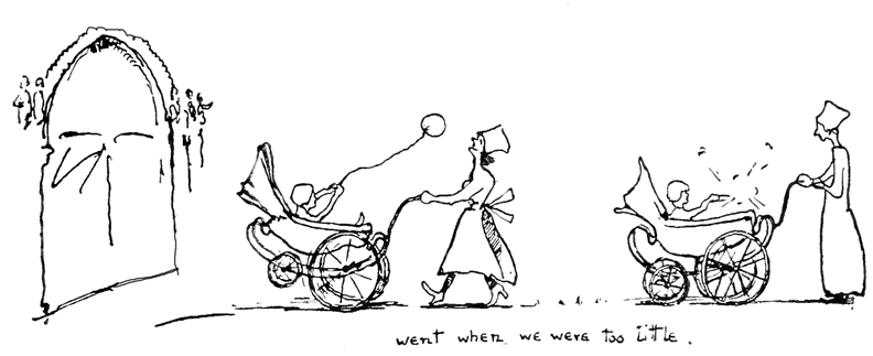 cute baby stroller carriage coloring page | 323x792