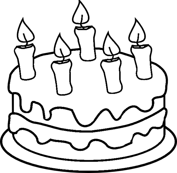 Free Birthday Cake Printable Coloring Pages Cake Printable Coloring Pages