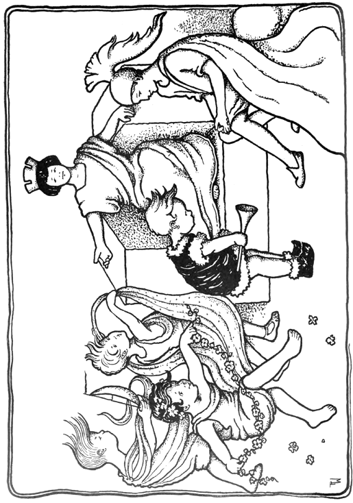 greek dancers coloring pages - photo#3