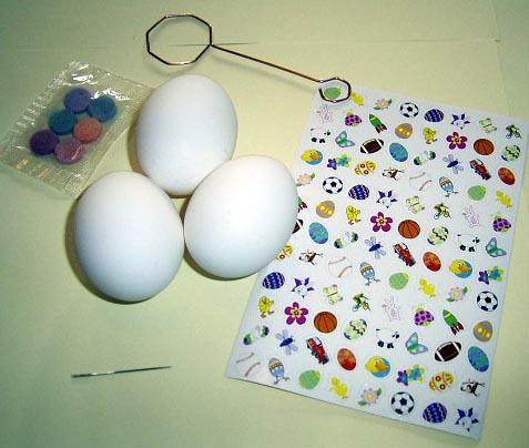 keepsake easter eggs decorating craft for kids kids