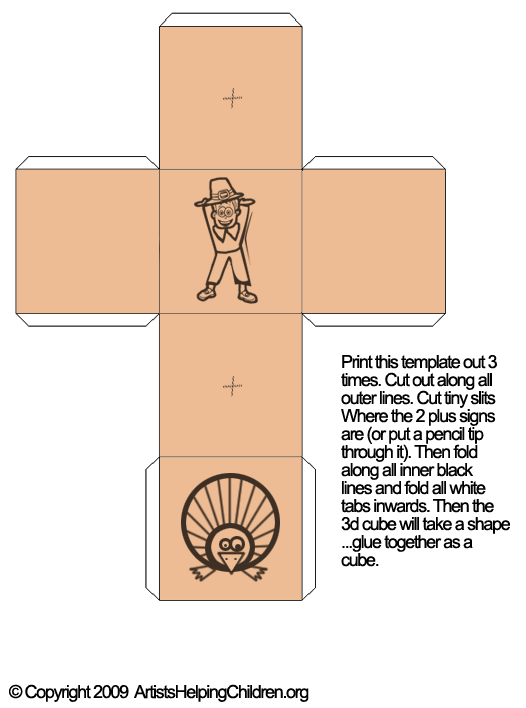 Thanksgiving Activities Make Thanksgiving Games with 3D Pilgrim – Tic Tac Toe Template