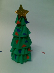 Make A Mini Christmas Tree Arts U0026 Crafts Project U0026 Activity For Kids