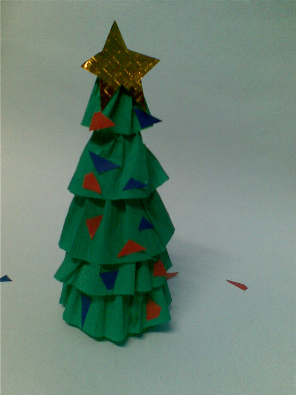 Make A Mini Christmas Tree Arts Amp Crafts Project