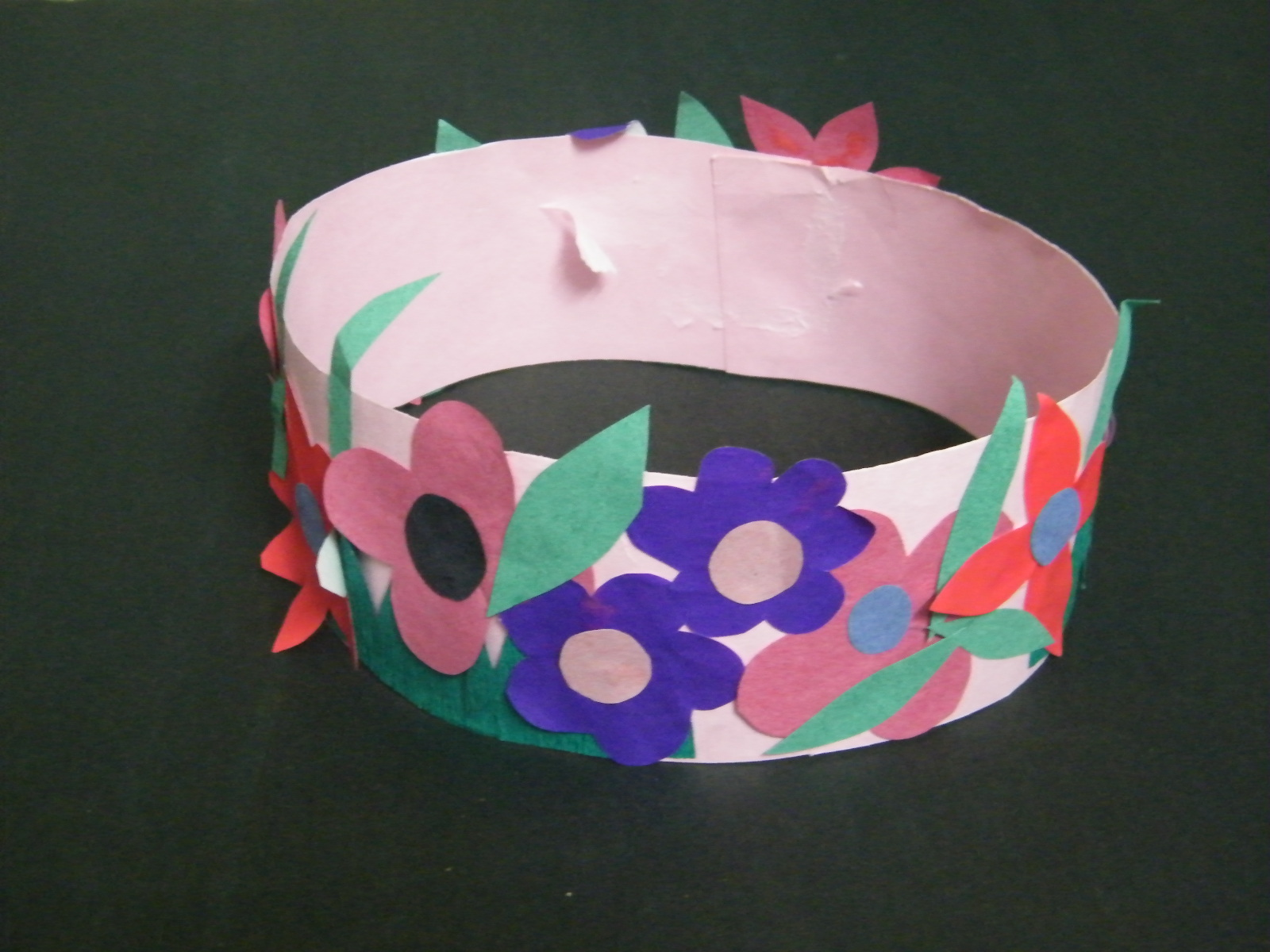 Make spring princess or fairy flowers crown craft for girls kids step 8 jeuxipadfo Image collections
