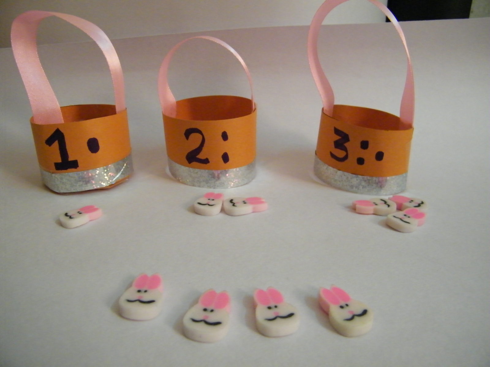 Make Easter Counting Game Craft Activities for Preschoolers