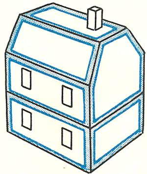 Теперь вы знаете, как сделать кукольный домик своими руками.  И уже готовый домик можете украшать, обставлять мебелью...