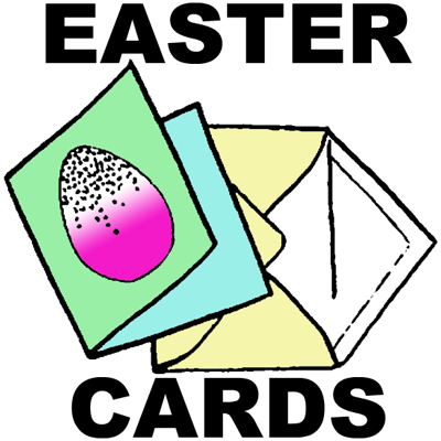 Make Your Own Easter Cards with Easter Eggs Craft Idea Kids – Make Your Own Easter Cards