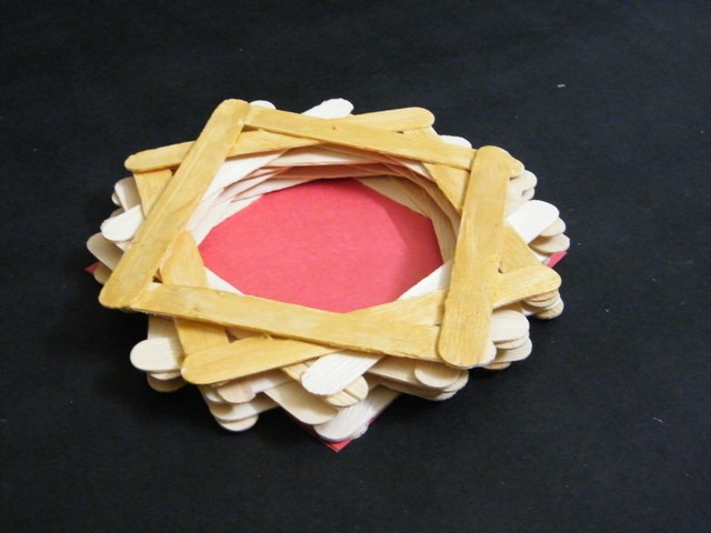 How to make a trinket box out of popsicle sticks kids What to make out of popsicle sticks