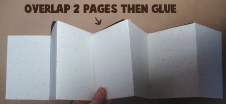 Step 07 : Kids Craft to Make New Years Scrapbook Project for Photos
