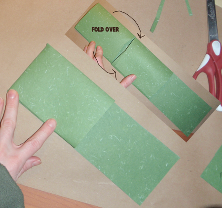 Step 13 : How to Make Accordion Fan Out Memory Scrapbook to Hold Pictures