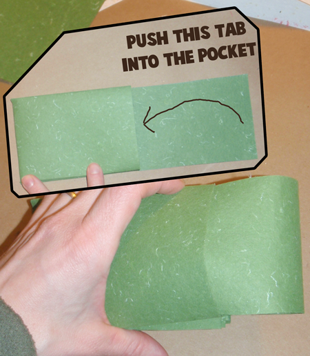 Step 14 : How to Make Accordion Folding Pocketed Memory Book for New Years Craft for Kids