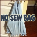How to Make No-Sew Tote Bag Craft from Recycled Old T-Shirts