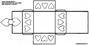 Valentines Day Hearts box-pattern-11x17