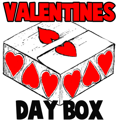 Valentine Boxes on How To Make A Valentines Day Gift Or Chocolates Box Gift Idea