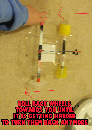 How To Make Rubber Band Powered Toy Dump Trucks And Cars