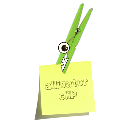 Making Alligator Clips Fridge Magnets With Clothespins Craft Idea for Kids