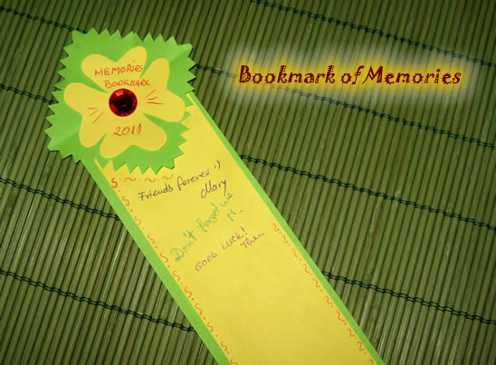 How to Make a Bookmark of Memories - Kids Crafts & Activities