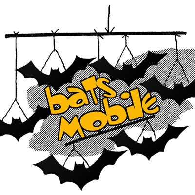 Craft Ideas Bats on Bats Mobile For Halloween    Animal Crafts Ideas    Kids Crafts