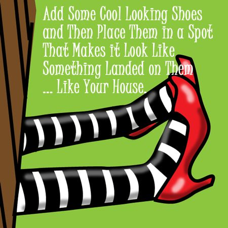 Add some cool looking shoes