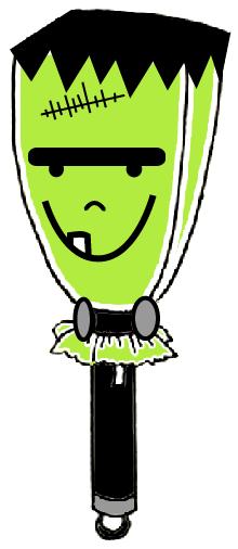 Frankenstein Flashlight Cover