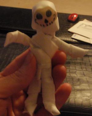 Finished Skull Mummy