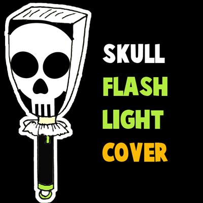 How to Make a Skull Flashlight Cover