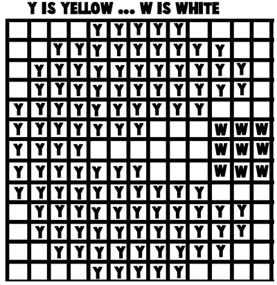 Mosaic Pacman Pattern