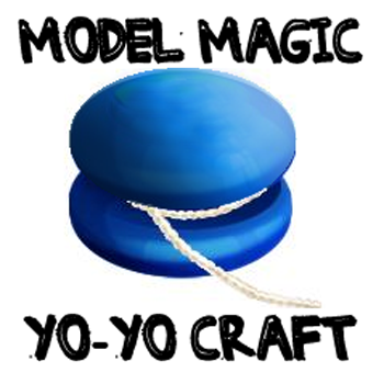 How to Make a Model Magic Yo-Yo