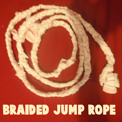How to Make a Braided Jump Rope - Kids Crafts & Activities