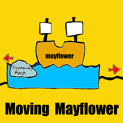 How To Make A Moving Mayflower For Thanksgiving Kids