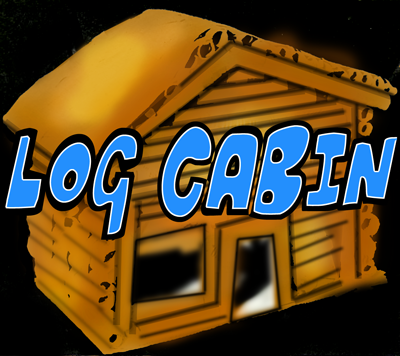How to Make a Log Cabin Paper Sculpture