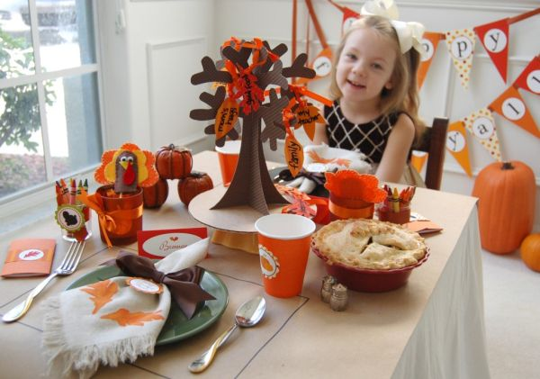 ... for Easy, Inexpensive & Crafty Table Decorations for Thanksgiving