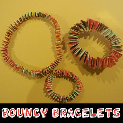 How to Make a Springy Paper Bracelet