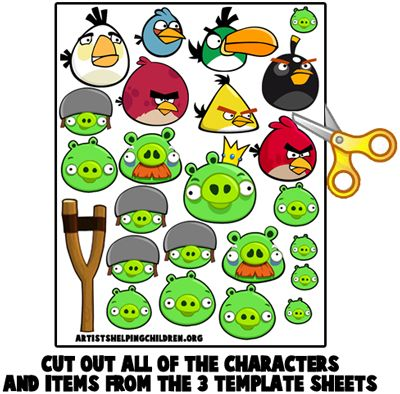 Craft Ideas Italy on To Make Your Own Angry Birds Magnet Set Animal Crafts Ideas Wallpaper