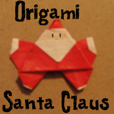 How To Make An Origami Santa Claus Kids Crafts Activities Kids