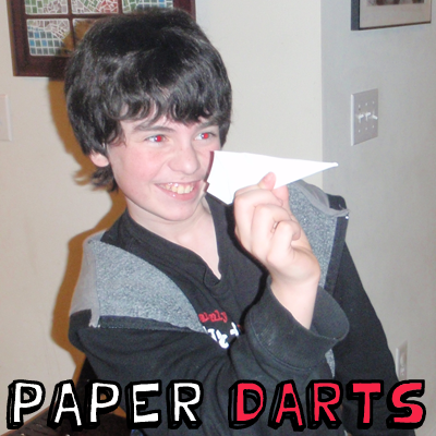 How to Make Paper Darts - Paper Airplanes