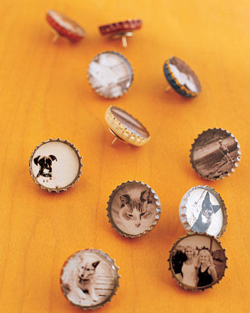 Bottle Cap Magnets & Thumbtacks