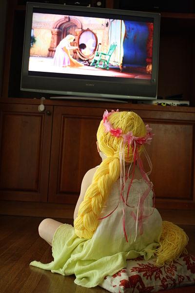 Rapunzel Hair