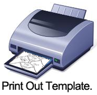 Print out Template.
