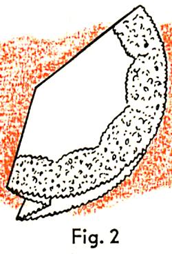 fold the right edges inward toward the center.