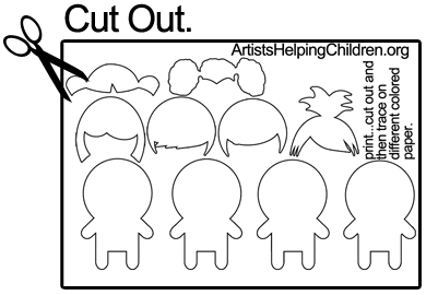cut out - Art Templates For Kids