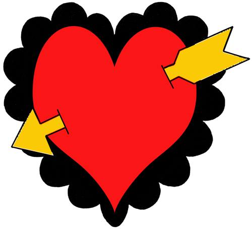 Finished Hearts And Arrows Craft