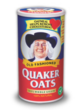 Grab an Oatmeal Container.