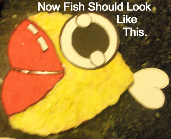 Now fish should look like this.