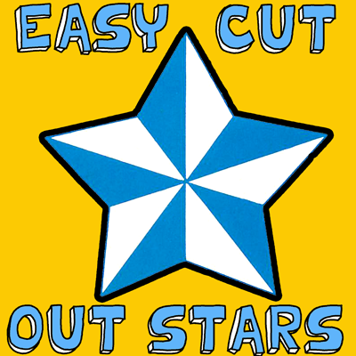 How to Fold 5 Pointed Stars
