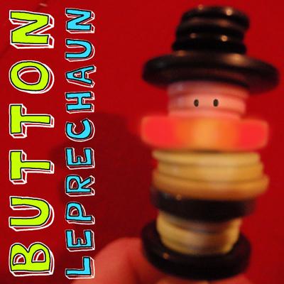 How to Make a Button Leprechaun