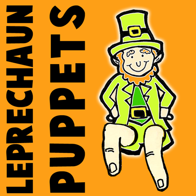 How to Make a Leprechaun Finger Puppet